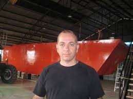 Doug MacCash / The Times-PicayuneArtist Miguel Palma produced a full-size Higgins boat with a wave pool inside. Higgins boats, he believes are an ... - large_MiguelPalma