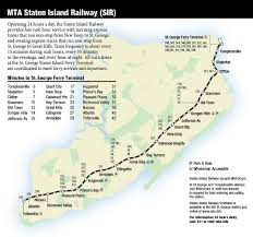 Mta Info Subway Map by Staten Island Bus Map And Schedule Staten Island Railway And