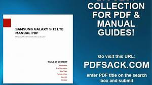 samsung galaxy s ii lte manual pdf video dailymotion