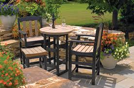 Polyethylene Patio Furniture by Outdoor Furniture Breezesta Recycled Poly Backyard Patio
