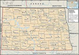 County Map Of Colorado State And County Maps Of North Dakota