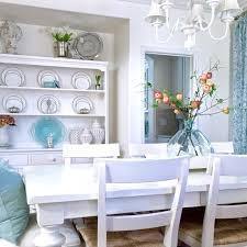 Dining Room Makeovers by My Blue And White Dining Room Makeover Kristywicks Com