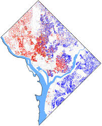 Washington Dc Usa Map by Demographics Of Washington D C Wikipedia