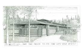 Frank Lloyd Wright Plans For Sale by Lost Frank Lloyd Wright Pavilion May Be Rebuilt In Canadian Resort