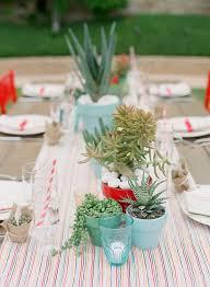 Rainbow Wedding Centerpieces by Whimsical Rainbows Chevron U0026 Stripes And Cacti Wedding Centerpieces