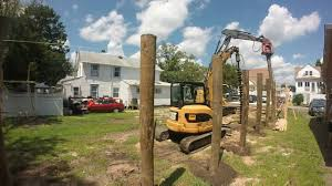 House On Pilings by Piling Foundation Install First Row Youtube