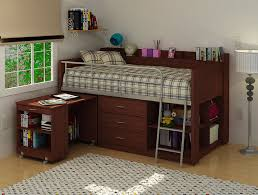pretty loft bunk bed with desk u2014 all home ideas and decor build