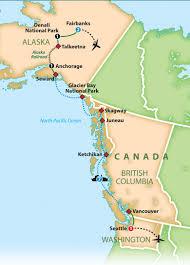 Juneau Alaska Map by Mayflower Tours