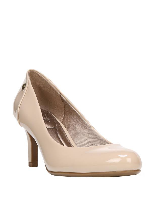 LifeStride Lively Heels Taupe- Womens