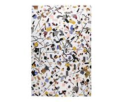 Multicolor Rug Confetti Hand Knotted Rug In Ivory And Multicolor 4 U0027x6 U0027 And Larger
