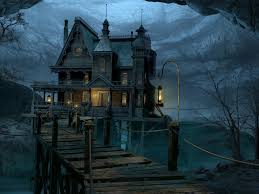 river house summer moon pinterest gothic buildings spooky
