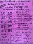 เลขเด็ดงวดนี้ หวยแม่จำเนียร สิบเลขเด็ด ขายดี 16 กุมภาพันธ์ 2556 ...