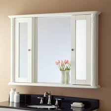 home decor bathroom mirror cabinet with lights unusual floral