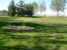 Backyard Golf Hole by Synlawn Of San Diego Offers High End Backyard Golf Greens Golf