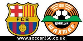 télécharger le Match Barcelone et  Shakhtar