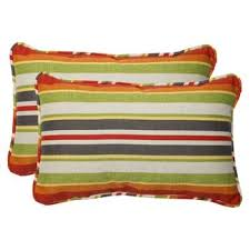 pillow perfect outdoor bench cushion roxen stripe target