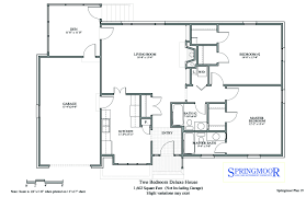 floor plan options for our houses springmoor two bedroom house floor plan option with two full baths