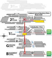Map Of University Of Michigan by Graduate Dentistry Clinics University Of Michigan Of