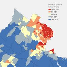 Map Of Virginia Counties And Cities by 10 Ways To Map Northern Virginia Statchat