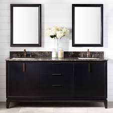 Black Distressed Bathroom Vanity by Mahogany Vanities Bathroom Vanities Signature Hardware
