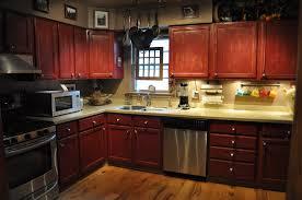 Kitchen Cabinets Mahogany Kitchen With Dark Wood Cabinets Perfect Home Design