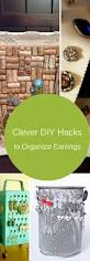 7 clever diy hacks to organize earrings the organized mom