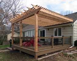 Deck Pergola Ideas by Pergola Design Ideas Pergola On Deck Image Of Build Pergola