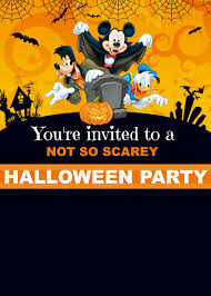 free halloween invite templates free mickey mouse halloween invitation cakecrusadersblog com