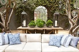 courtyard designs fascinating 7 restoration hardware succulent