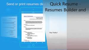 quick and easy resume builder quick resume resumes builder and designer iphone ipad review quick resume resumes builder and designer iphone ipad review
