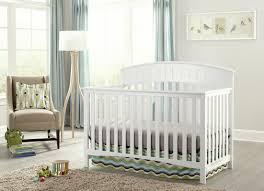 White Convertable Crib by Graco Charleston 4 In 1 Convertible Crib U0026 Reviews Wayfair