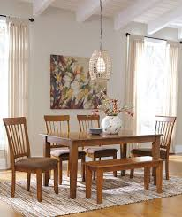 Ashley Furniture Berringer Piece X Table  Chair Set - Ashley furniture dining table with bench