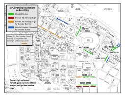 Washington Traffic Map by Gopher Football Gamedays Parking U0026 Transportation Services