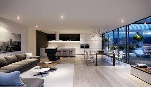 elegant living room interior with floor to ceiling windows design