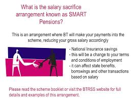 the bt retirement saving scheme btrss ppt video online download