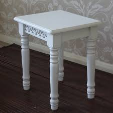 White Shabby Chic Dressing Table by White Shabby Chic French Style Dressing Table Stool Melody Maison