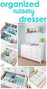 Closet Organizer For Nursery Nursery Dresser Organization