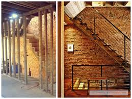 Fake Exposed Brick Wall Unfinished Basement Exposed Brick Wall Before U0026 After