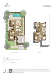 sidra villa floor plans dubai hills estates dubai hills