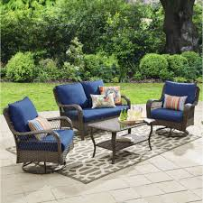Best Wicker Patio Furniture Best Choice Products 4pc Wicker Outdoor Patio Furniture Set
