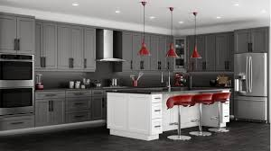 Kitchen Cabinets White Shaker Shaker Grey Kitchen Cabinets We Ship Everywhere Rta Easy