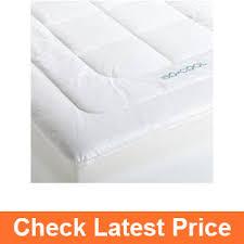 best cooling mattress toppers in 2017 u2013 top 10 picks u0026 reviews