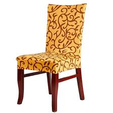 Dining Room Chair Seat Slipcovers Dining Room Chair Seat Slipcovers Covers For Chairs Velcromag