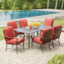 Martha Stewart 7 Piece Patio Dining Set - things you never knew about patio dining sets tcg