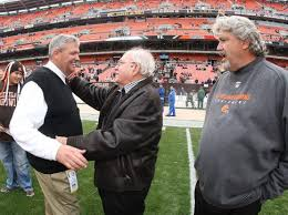 Rex Ryan, Father Buddy, and Rob Ryan.