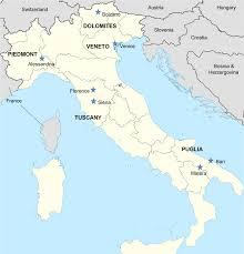Map Of Italy Regions by Cyclomundo Blog