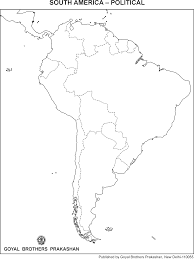 Political Map Of South America North America Political Map Outline Of The United States Within