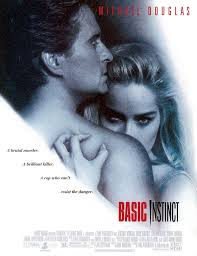 Michael Douglas as Detective Nick Curran and Sharon Stone as Catherine Tramell in  quot Basic Instinct