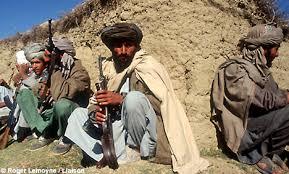 Taliban dengan peralatan kuno dan sederhana