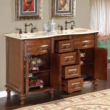 amazon com silkroad exclusive marble stone top double sink